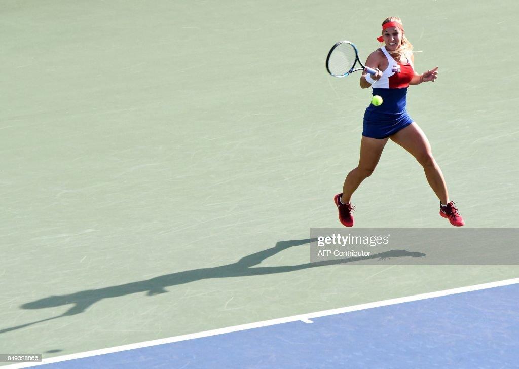 TOPSHOT-TENNIS-WTA-JPN : News Photo
