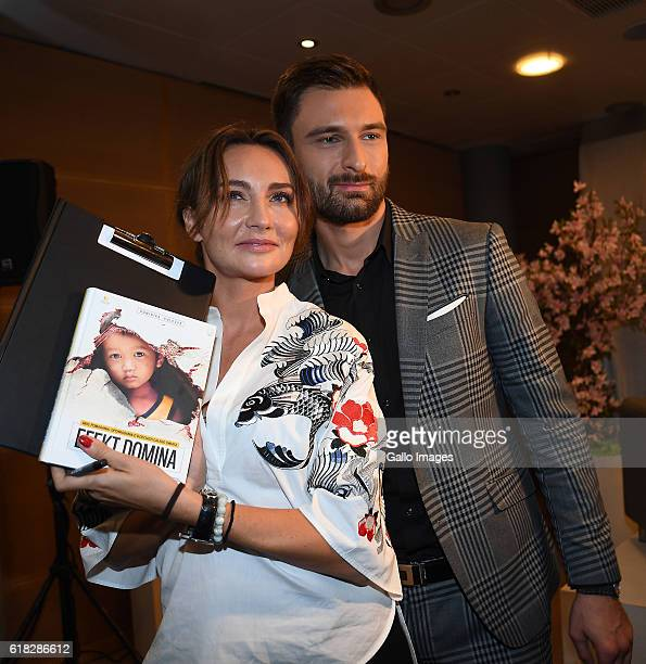 Dominika Kulczyk poses with fans and promotes her book âEfekt dominaâ on October 20 2016 in Warsaw Poland Kulczyk is a founder and CEO of Kulczyk...