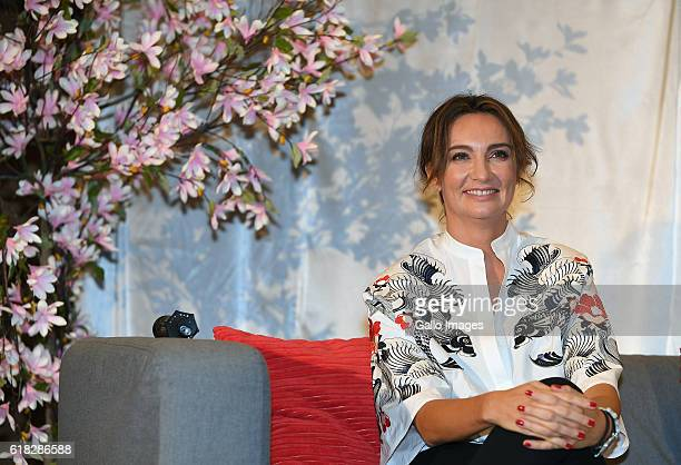 Dominika Kulczyk promotes her book âEfekt dominaâ on October 20 2016 in Warsaw Poland Kulczyk is a founder and CEO of Kulczyk Foundation and carries...