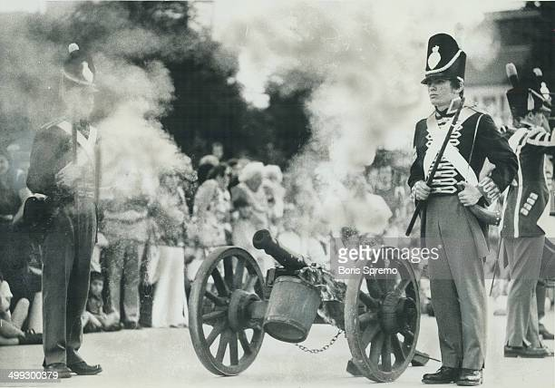 Dominion Day celebrations took place yesterday at Nathan Phillips Square as members of the guard at Fort York fired a cannon to celebrate Canada's...