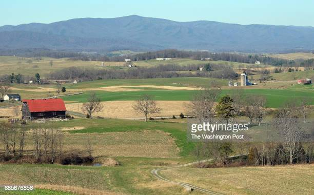 Dominions 564mile Atlantic Coast pipeline would come through this area of the Shenandoah Valley in Augusta County Va This view is from Scott and...
