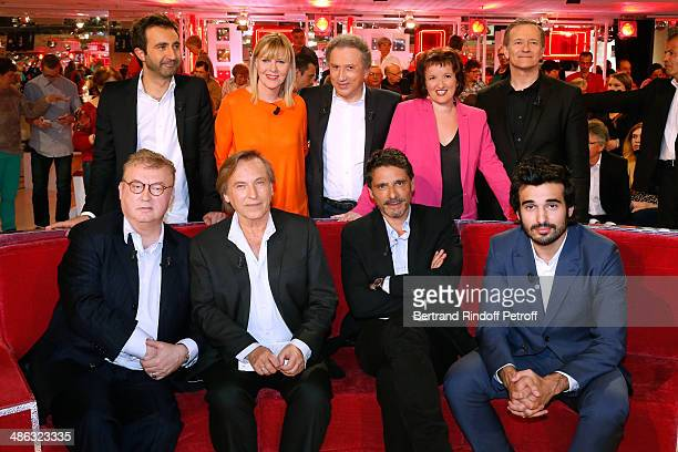 Dominique Besnehard Alexandre Arcady Pascal Elbe and Syrus Shahidi Mathieu Madenian Chantal Ladesou Michel Drucker Anne Roumanoff and Francis Huster...