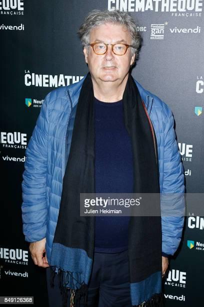 Dominique Besnehard attends 'Happy End' Paris Premiere at la cinematheque on September 18 2017 in Paris France