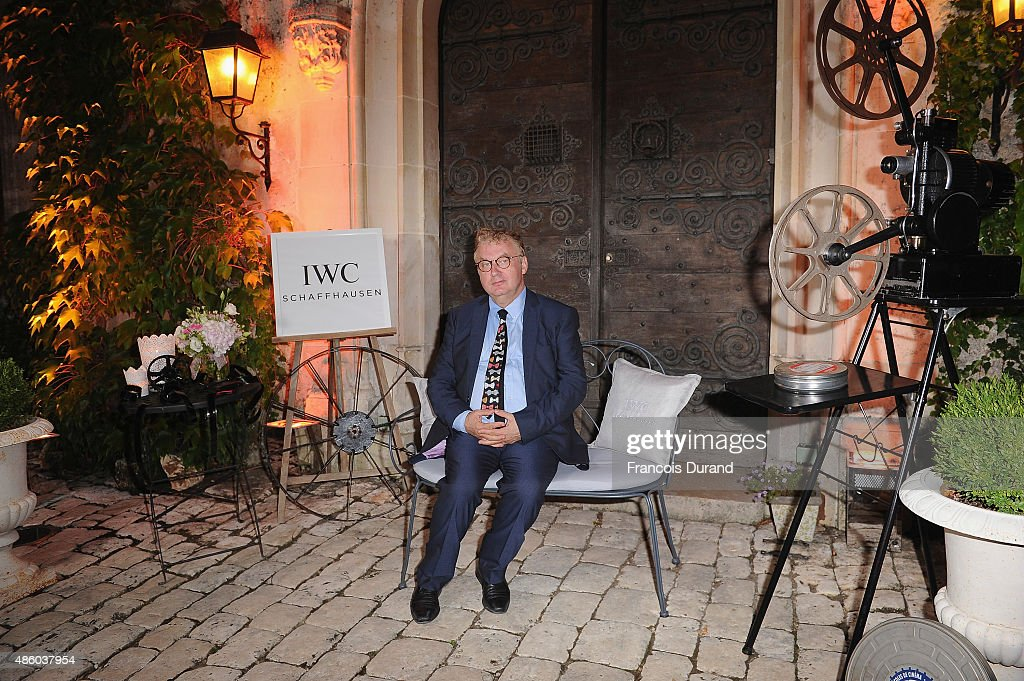 Dominique Besnehard attends the closing dinner hosted by IWC during the Festival du Film Francophone d'Angouleme on August 30, Angouleme, France.
