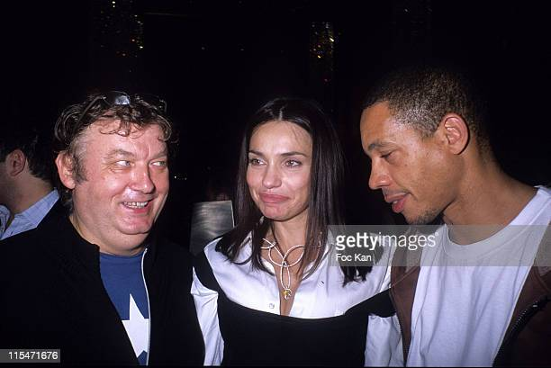 Dominique Besnehard Beatrice Dalle and Joey Starr