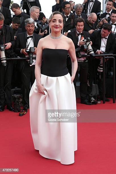 Dominique Blanc attends the opening ceremony and premiere of 'La Tete Haute' during the 68th annual Cannes Film Festival on May 13 2015 in Cannes...