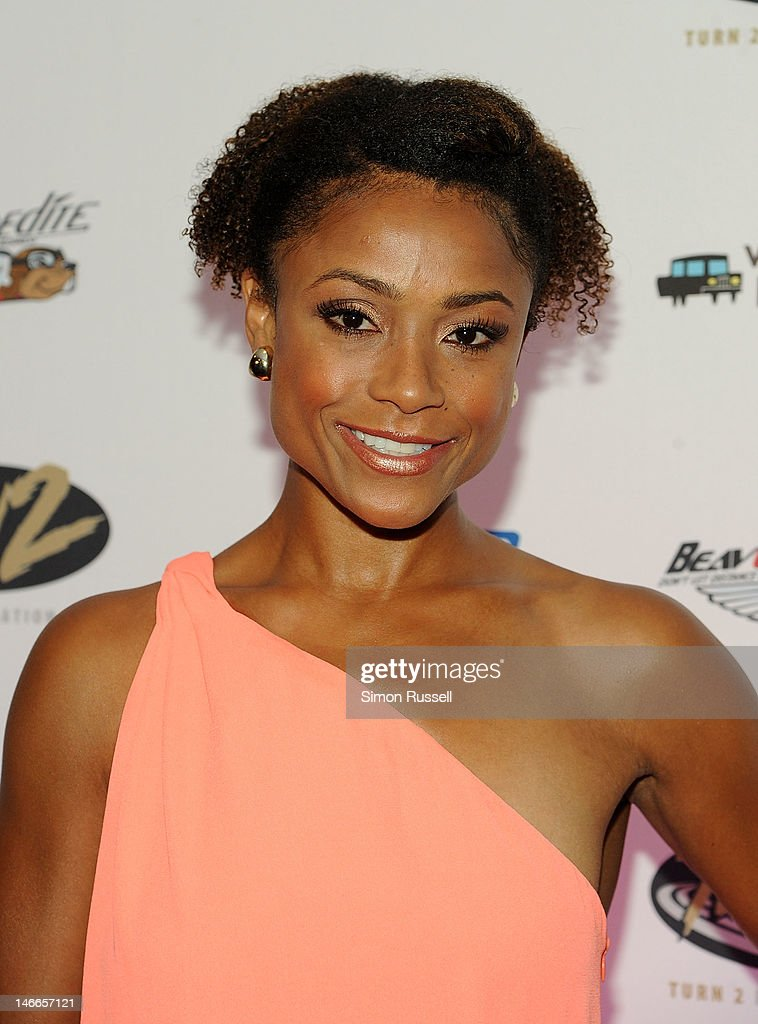 Dominique Dawes attends the 16th Annual Turn 2 Foundation Dinner Hosted By Derek Jeter at New York Sheraton Hotel & Tower on June 21, 2012 in New York City.