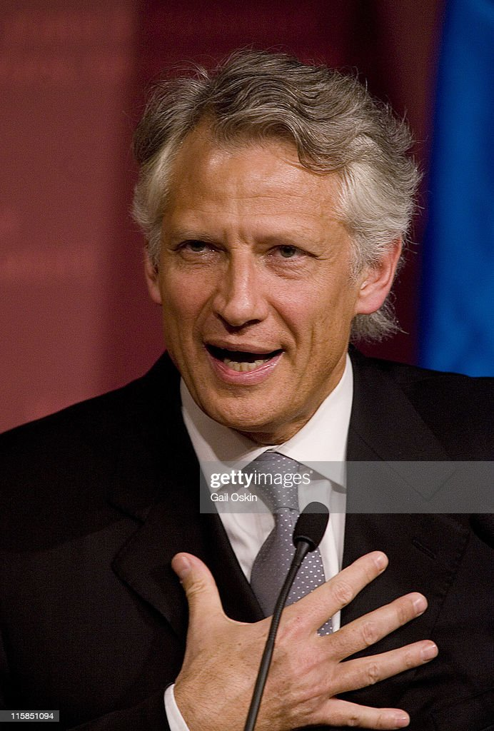 <a gi-track='captionPersonalityLinkClicked' href=/galleries/search?phrase=Dominique+de+Villepin&family=editorial&specificpeople=548074 ng-click='$event.stopPropagation()'>Dominique de Villepin</a>, Prime Minster of France, speaks at Harvard University in Cambridge, Massachusetts on March 16, 2007.