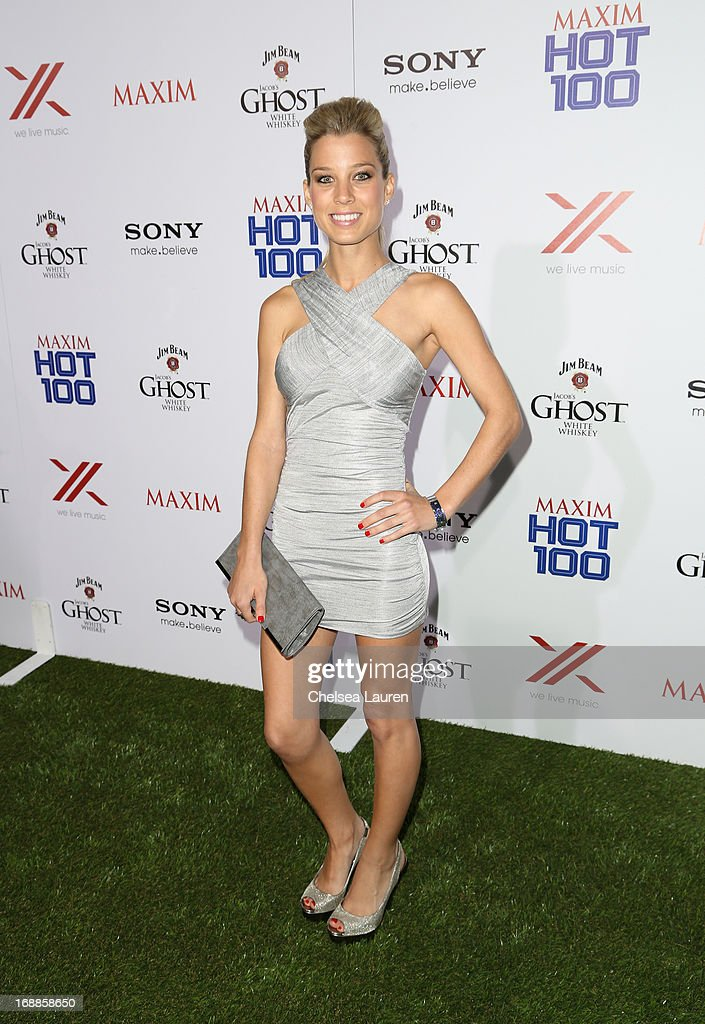 Dominique Storelli arrives for Maxim's Hot 100 Celebration at Create Nightclub on May 15, 2013 in Hollywood, California.