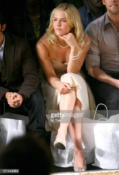 Dominique Swain front row at Monarchy Collection Fall 2007