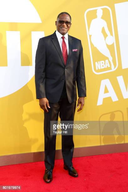 Dominique Wilkins attends the 2017 NBA Awards at Basketball City Pier 36 South Street on June 26 2017 in New York City