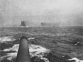 Domitable and inflexible at the Battle of Jutland 1st June 1916