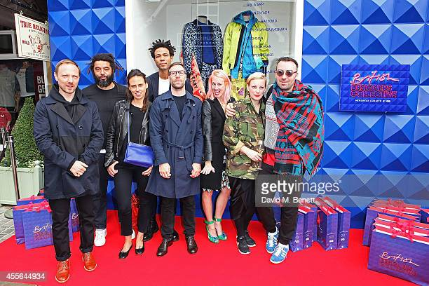 Don Alvin Adegeest Marc Hare Alexia Hentsch Charlie CaselyHayford Rafal Antos Katie Eary Lou Dalton and James Long attend the official opening of...