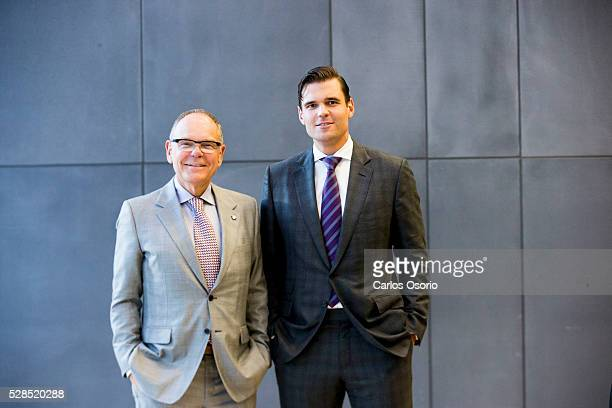 TORONTO ON MAY 5 Don and Alex Tapscott are launching their book Blockchain Revolution at the Rotman School of Management on May 5 2016