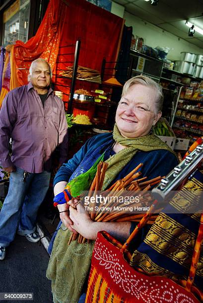 Don and Margaret Prasad in their shop Fiji Market King Street Newtown 31 May 2006 SMH Picture by NARELLE AUTIO