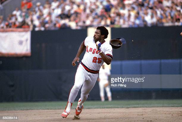 Don Baylor of the California Angels runs the bases during a game in October 21979 Don Baylor played for the California Angels from 19771982