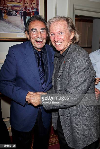 Don Black and Tommy Steele attend the press night performance of 'Scrooge The Musical' at the London Palladium on November 6 2012 in London England