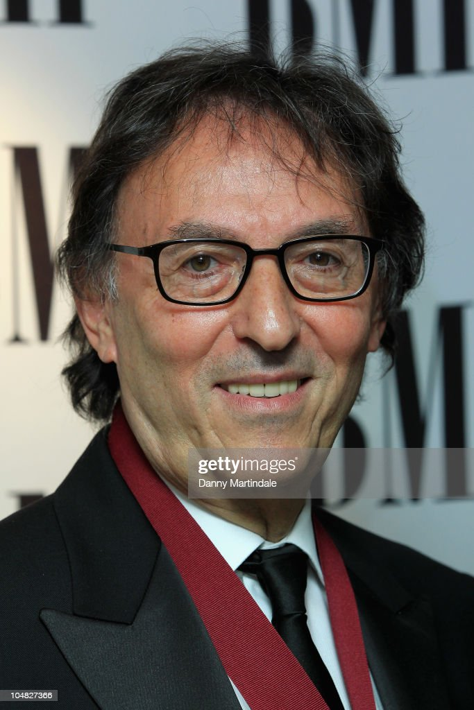 Don Black arrives at BMI Awards at The Dorchester on October 5, 2010 in London, England.
