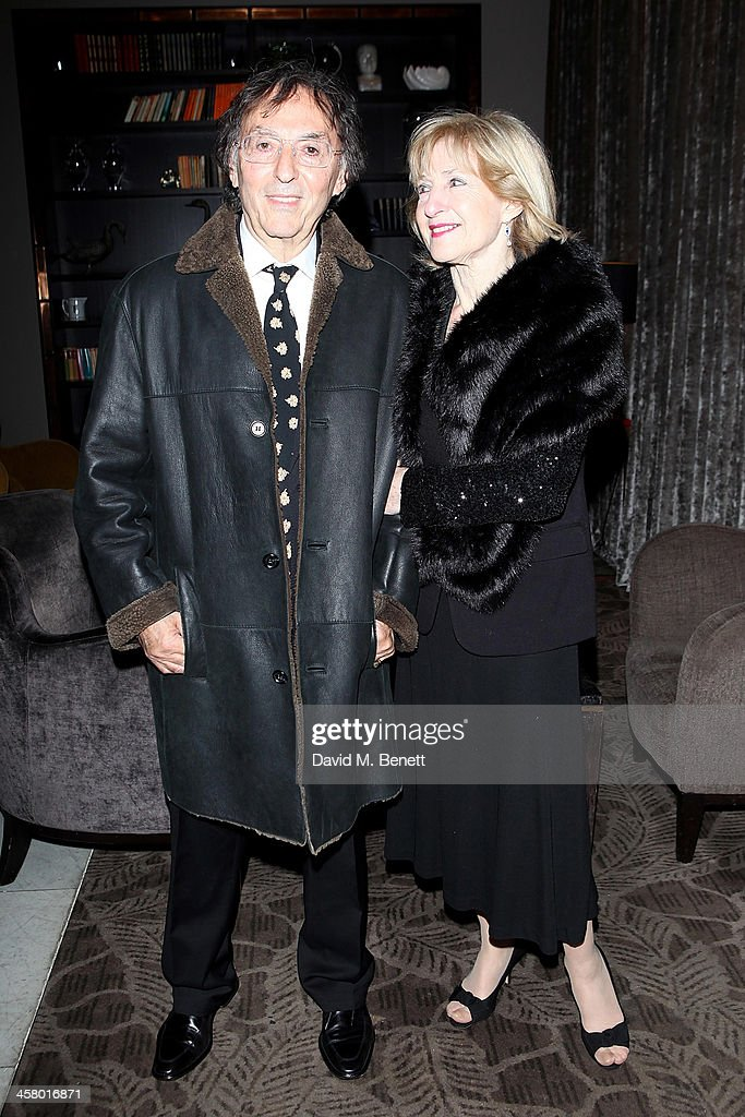 Don Black attends the afterparty for Andrew Lloyd Webber's new musical 'Stephan Ward' at The Waldorf Hilton Hotel on December 19, 2013 in London, England.