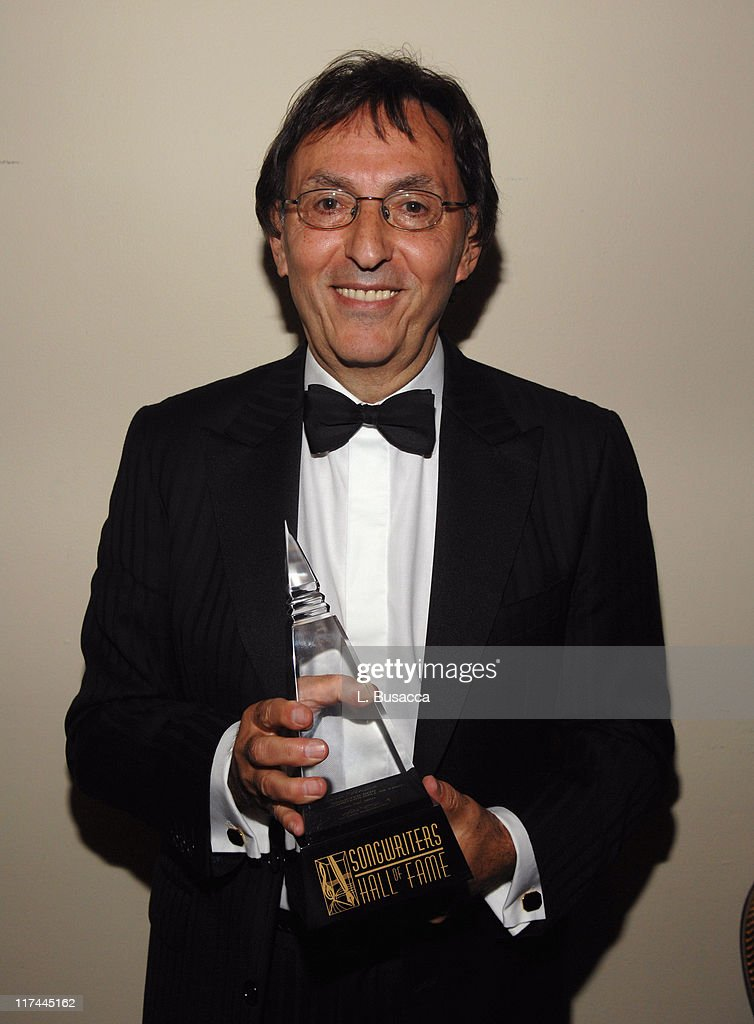Don Black during 38th Annual Songwriters Hall of Fame Ceremony - Cocktails and Backstage at Marriott Marquis in New York City, New York, United States.