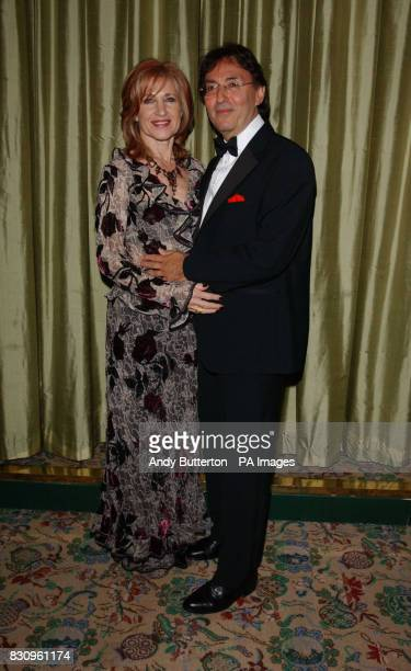Don Black with his wife Shirley during a reception prior to the Variety Club's Tribute Dinner for the lyricist at The Dorchester in London * Black is...