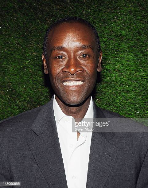 Don Cheadle actor and UNEP Goodwill Ambassador attends 2012 Sustainable Operations Summit at the Hilton New York on April 18 2012 in New York City