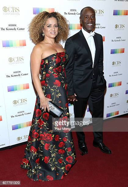 Don Cheadle and Bridgid Latrice Coulter arrive at the 39th Annual Kennedy Center Honors at The Kennedy Center on December 4 2016 in Washington DC