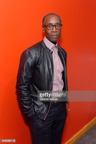 Don Cheadle attends 2017 REDCAT Gala Honoring Janet Dreisen Rappaport and John Baldessari on March 4 2017 in Los Angeles California