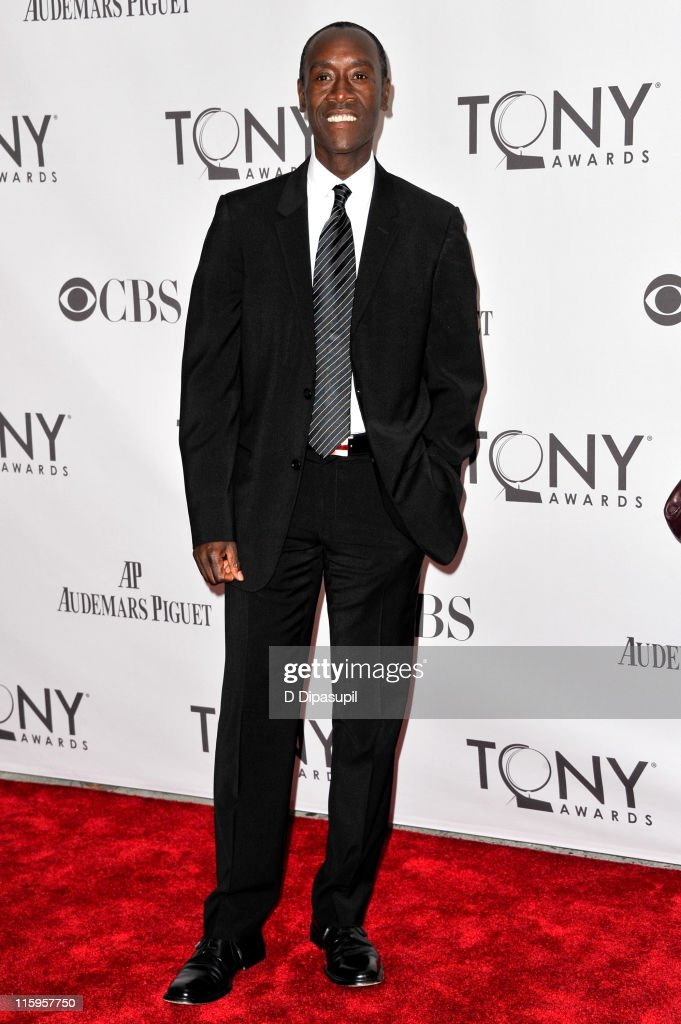 <a gi-track='captionPersonalityLinkClicked' href=/galleries/search?phrase=Don+Cheadle&family=editorial&specificpeople=202096 ng-click='$event.stopPropagation()'>Don Cheadle</a> attends the 65th Annual Tony Awards at the Beacon Theatre on June 12, 2011 in New York City.