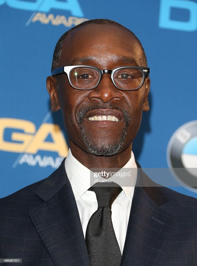<a gi-track='captionPersonalityLinkClicked' href=/galleries/search?phrase=Don+Cheadle&family=editorial&specificpeople=202096 ng-click='$event.stopPropagation()'>Don Cheadle</a> attends the 66th Annual Directors Guild Of America Awards Press Room held at the Hyatt Regency Century Plaza on January 25, 2014 in Century City, California.