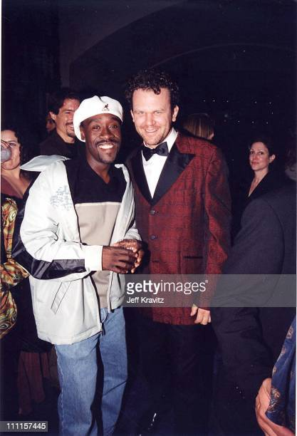 Don Cheadle John C Reilly during 'Boogie Nights' Premiere in Los Angeles California United States