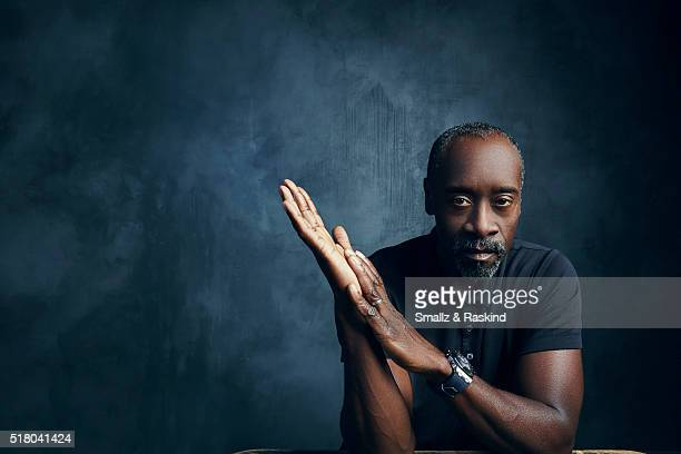 Don Cheadle poses for a portrait in the Getty Images SXSW Portrait Studio Powered By Samsung on March 13 2016 in Austin Texas