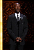 Don Cheadle speaks on stage during the 65th Annual Tony Awards at the Beacon Theatre on June 12 2011 in New York City