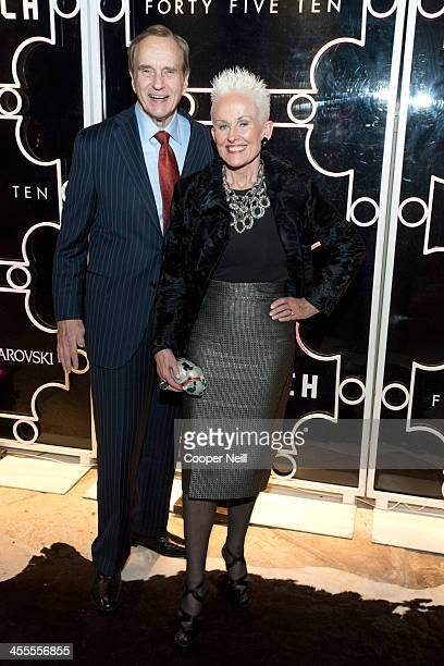 Don Daseke and Barbara Daseke arrive at Forty Five Ten on December 11 2013 in Dallas Texas