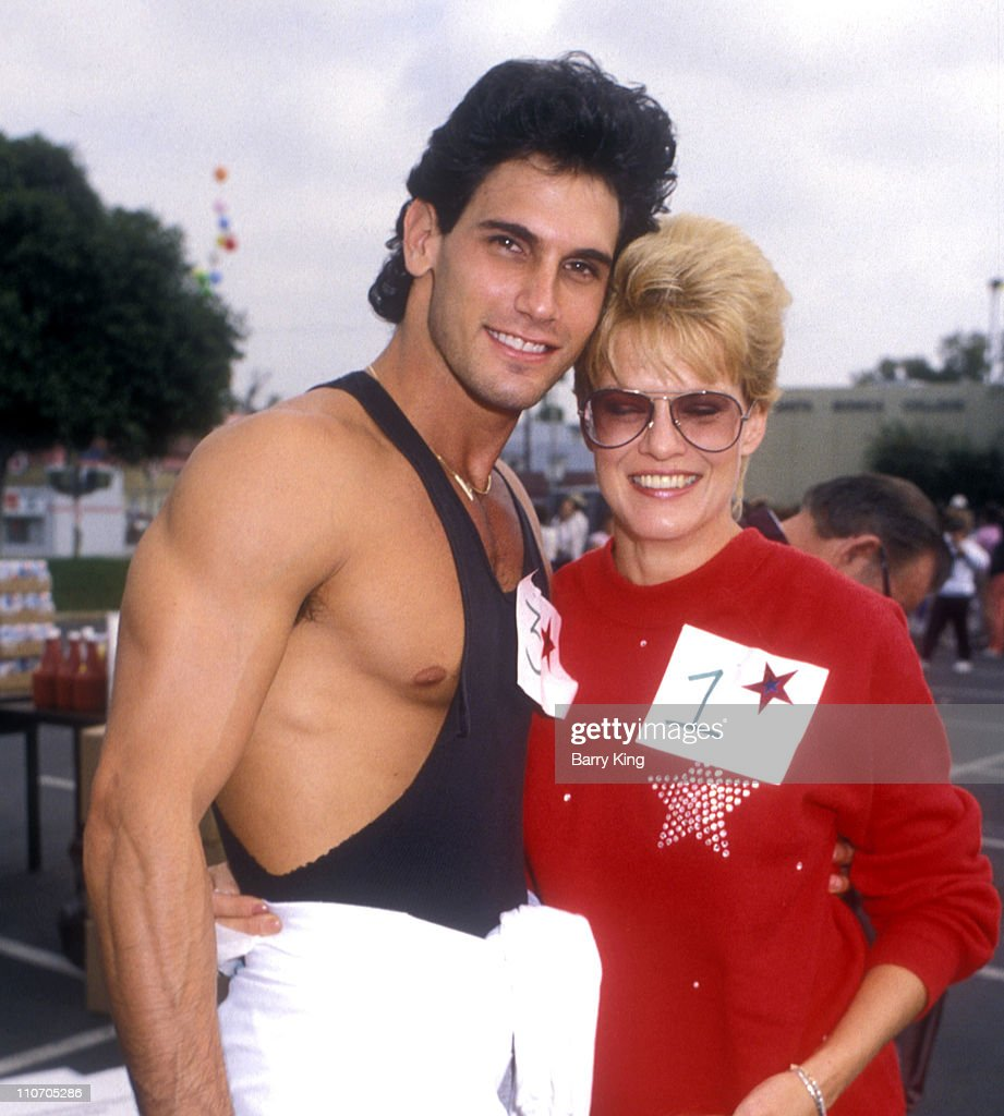 Don Diamont and Gloria Loring during Diabetes Charity Walk in Los Angeles CA United States