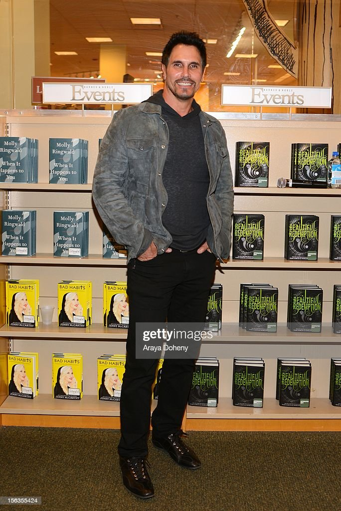 Don Diamont arrives at the Bradley Bell And Cast Members Of 'The Bold And The Beautiful' Book Signing at Barnes Noble bookstore at The Grove on...