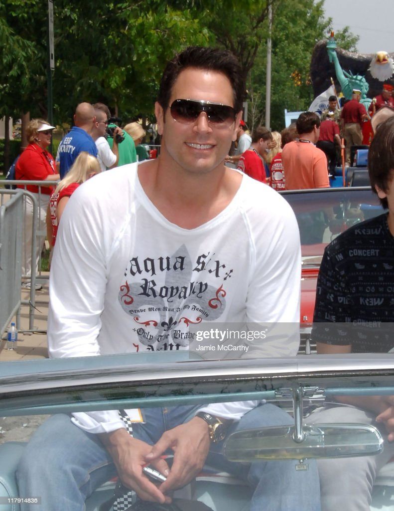 Don Diamont during 90th Running of The Indianapolis 500 The Indy 500 All Star Festival Parade in Indianapolis Indiana United States