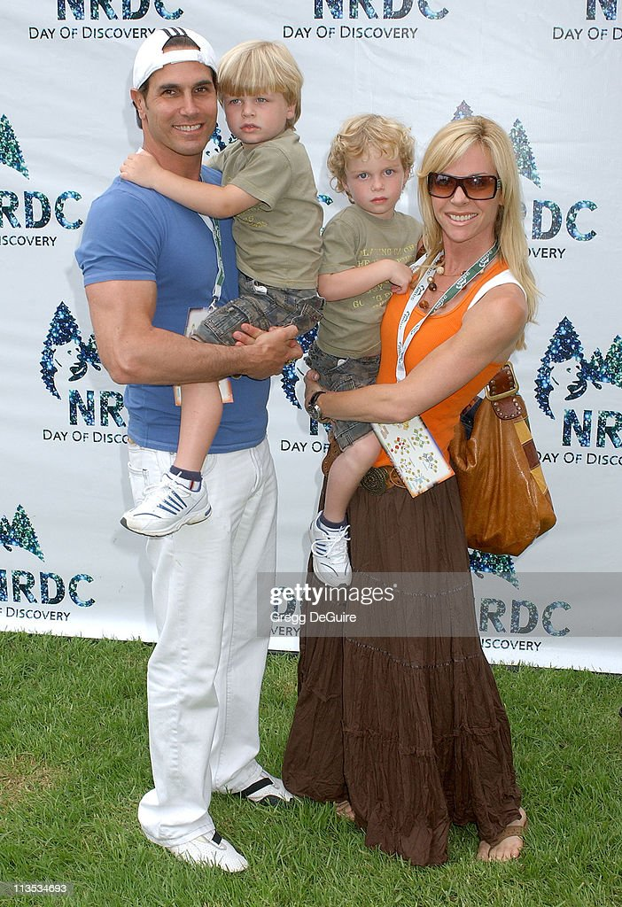 Don Diamont during NRDC Day Of Discovery Fair Arrivals at Wadsworth Theater Grounds in Westwood California United States