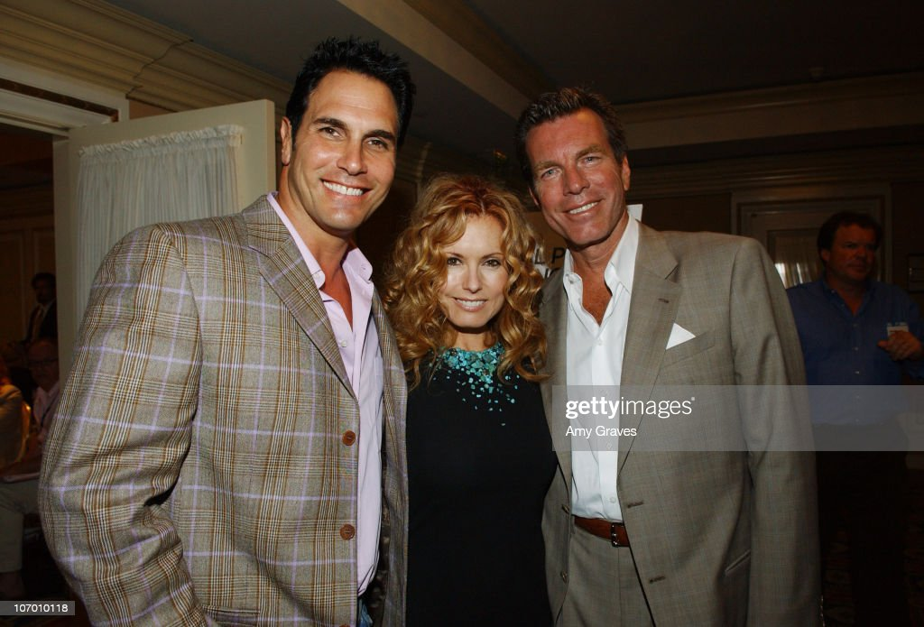 Don Diamont Tracey E Bregman and Peter Bergman of 'The Young and the Restless'