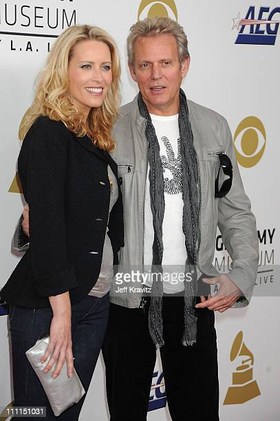 Don Felder and Kathrin Nicholson Don Felder and Kathrin Nicholson arrive to the Grammy Nominations Concert LIVE held at the Nokia Theatre LA LIVE on...
