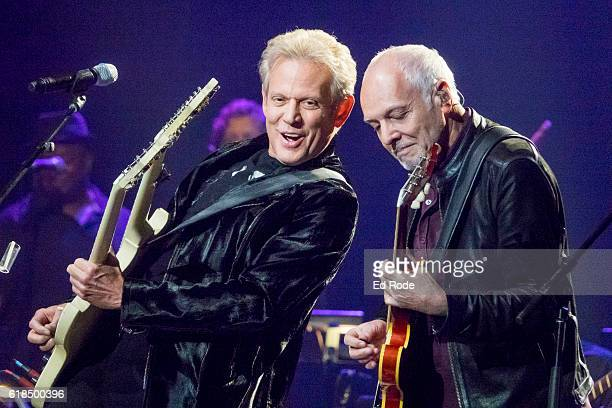 Don Felder and Peter Frampton perform at Nashville Municipal Auditorium on October 26 2016 in Nashville Tennessee