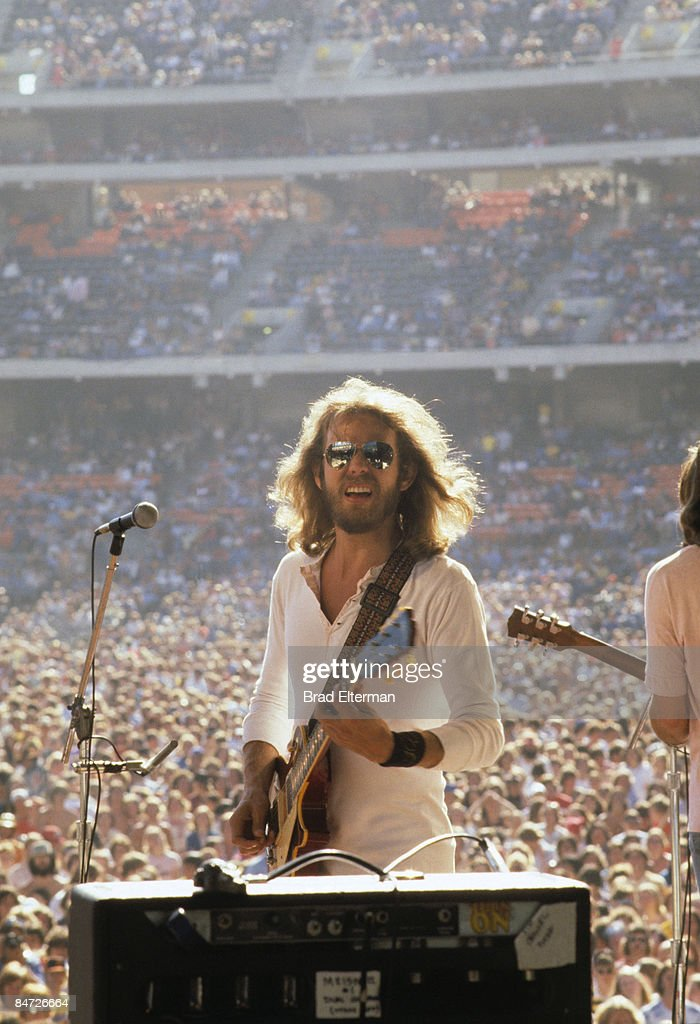 <a gi-track='captionPersonalityLinkClicked' href=/galleries/search?phrase=Don+Felder&family=editorial&specificpeople=640659 ng-click='$event.stopPropagation()'>Don Felder</a> of The Eagles at Day On The Green concert featuring The Eagles at Oakland Coliseum in San Francisco, California. **EXCLUSIVE**