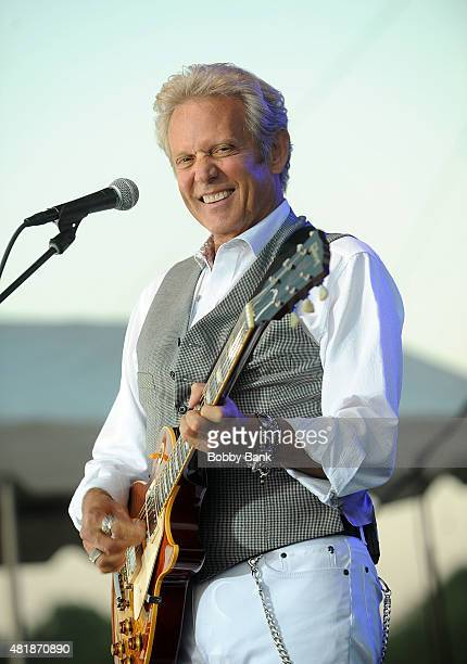 Don Felder of The Eagles performs at the 33rd Annual Quick Chek New Jersey Festival Of Ballooning Day 1 at Solberg Airport on July 24 2015 in...