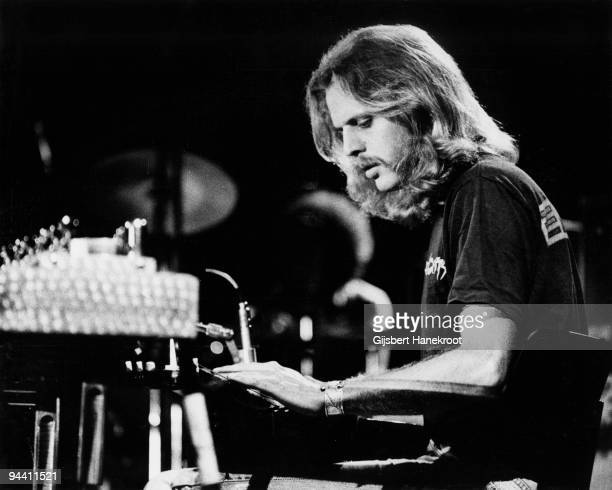 Don Felder of The Eagles performs on stage c 1974 in United States