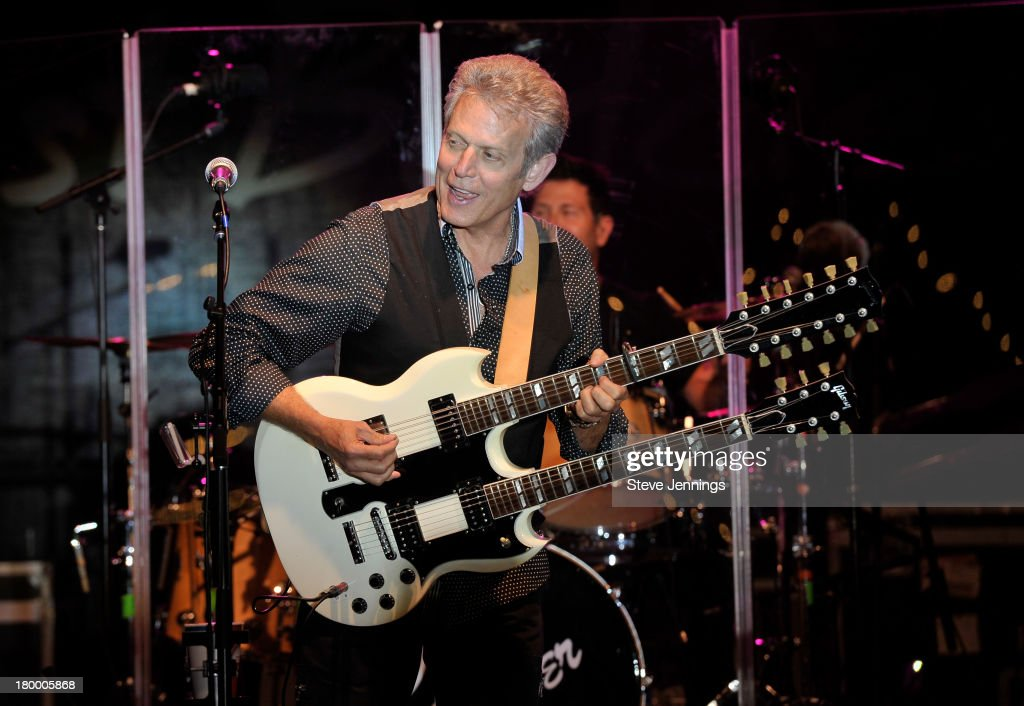 <a gi-track='captionPersonalityLinkClicked' href=/galleries/search?phrase=Don+Felder&family=editorial&specificpeople=640659 ng-click='$event.stopPropagation()'>Don Felder</a> performs at the Best Buddies Challenge: Hearst Castle Victory Barbeque Celebration Party at Hearst Ranch on September 7, 2013 in San Simeon, California.