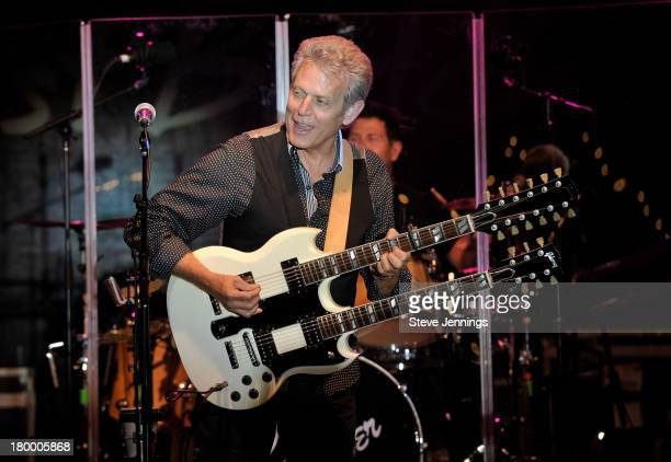 Don Felder performs at the Best Buddies Challenge Hearst Castle Victory Barbeque Celebration Party at Hearst Ranch on September 7 2013 in San Simeon...