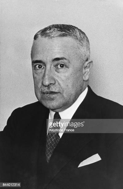 Don Félix Escalas le nouveau gouverneur de Catalogne à Barcelone Espagne le 21 décembre 1935