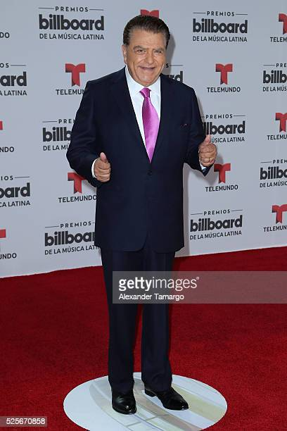 Don Francisco attends the Billboard Latin Music Awards at Bank United Center on April 28 2016 in Miami Florida