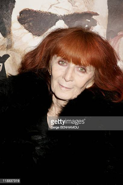 Don Giovanni Directed By Joseph Losey At The French Film Library On January 16Th 2006 In Paris France Here Sonia Rykiel