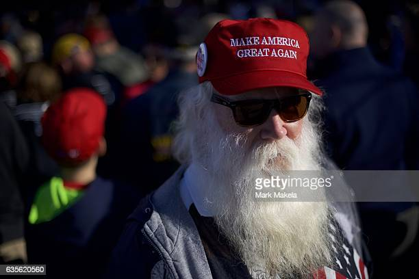 Don Glasgow outside before a rally for Republican Presidential nominee Donald J Trump November 4 2016 at Giant Center in Hershey Pennsylvania Polls...
